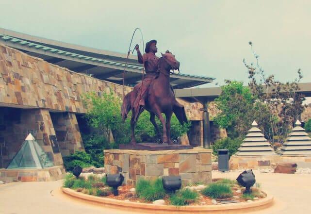 Oklahoma Cowboy and Horse