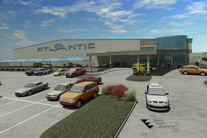 Atlantic Aviation Builds New Facility Amp First Ever Greenfield Project Wrwa