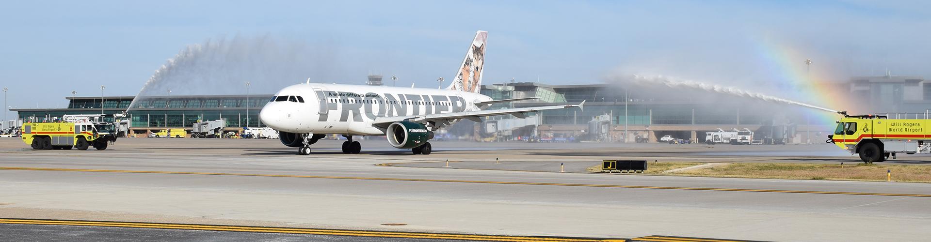 Frontier Airlines Announces Nonstop Okc To San Antonio Wrwa