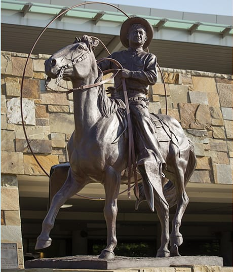 Oklahoma Native Son Sculpture