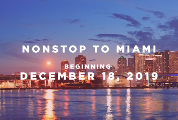 nonstop service on american airlines to miami
