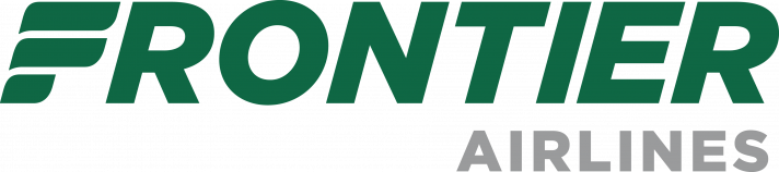 Frontier Airlines Logo Green text